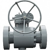 MSTR : Metal to Metal Trunnion ball valve